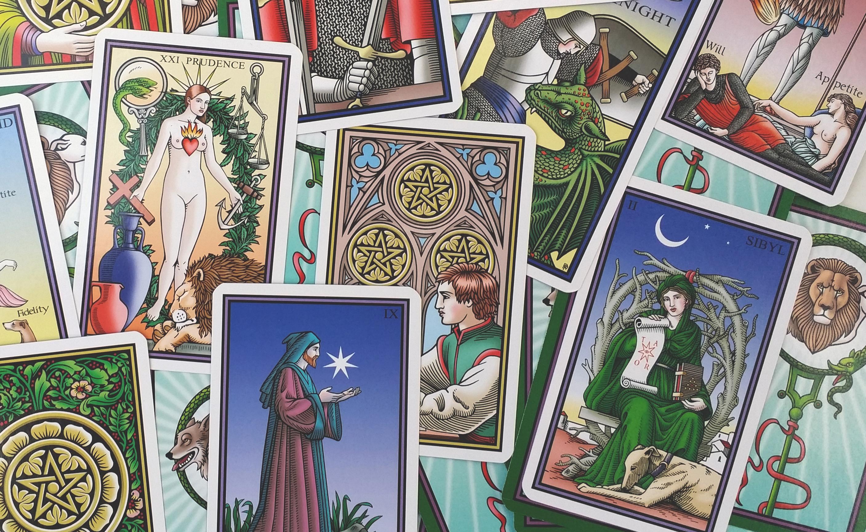 The tarot of the sevenfold mystery tarot divination decks with tarot of the sevenfold mystery narrow ad buycottarizona