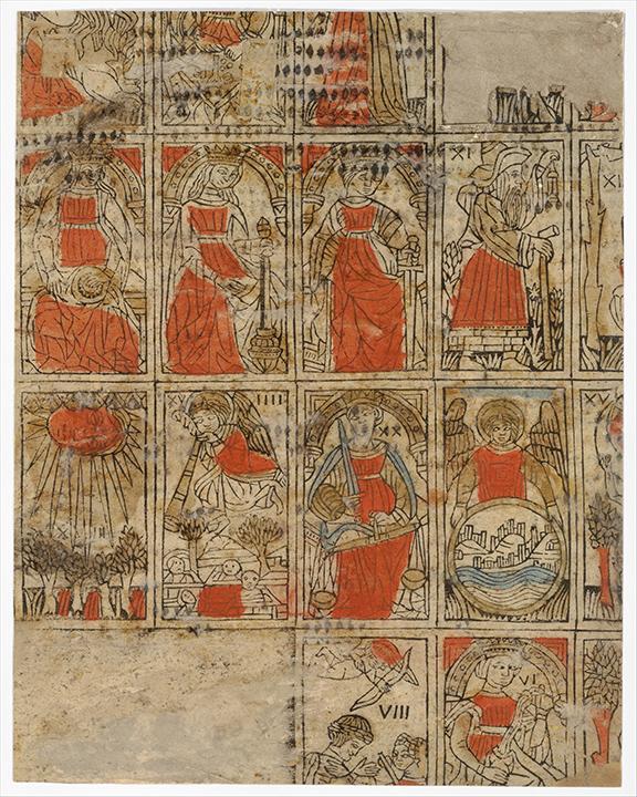 Trionfi Cards: The Facsimile Italian Renaissance Woodcut Tarocchi