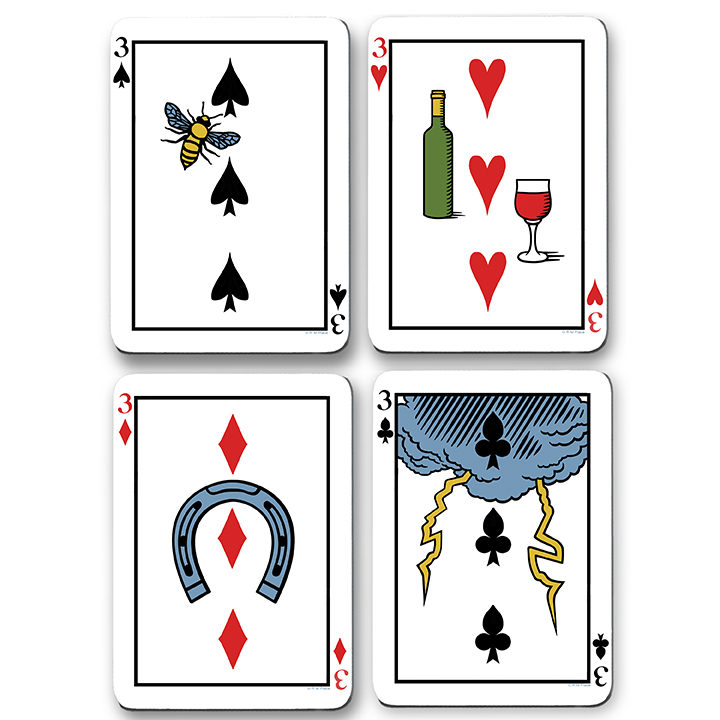 The Hermes Playing Card Oracle | Tarot & Divination Decks with
