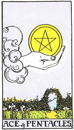 Smith Ace of Pentacles