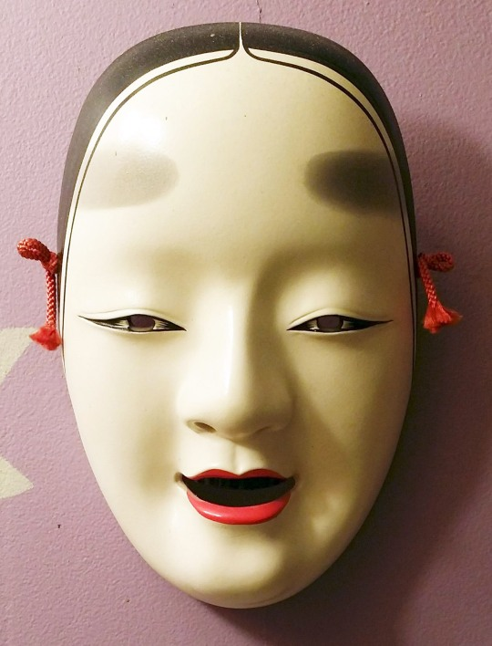 japanese ceramic mask